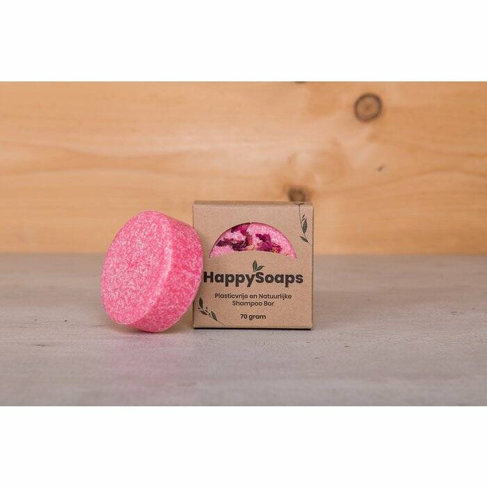 Shampoo Bar Happy Soaps La Vie en rose -70g
