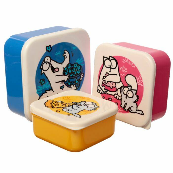 set van 3 doosjes Simon's cat (MLXL)
