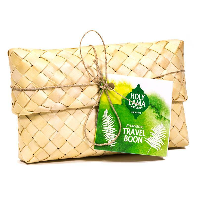 Holy Lama Natural Ayurvedic Travel Boon geschenkset