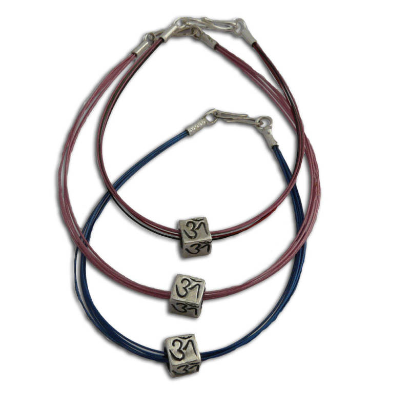 Ohm Kubus Armband in Kleur