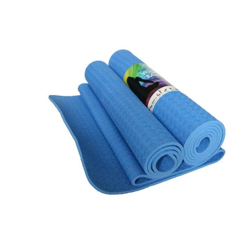 YogaStyles Yogamat TPE Comfort Blauw of Paars