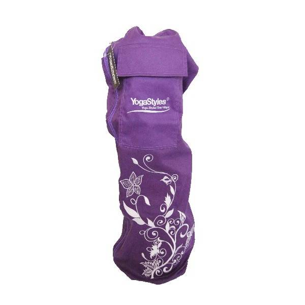 YogaStyles Yogatas Purple Flower