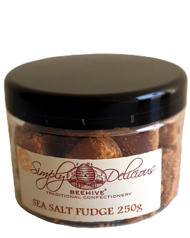 Beehive Seasalt Fudge, potje 250 gram