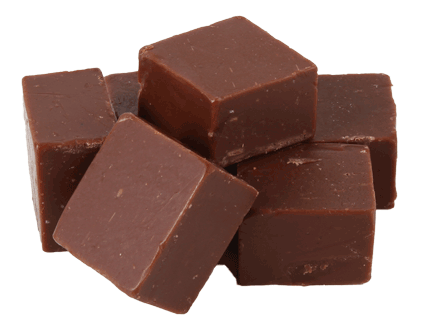 Chocolade Fudge mini cubes