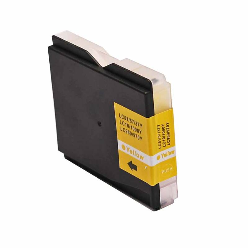Brother LC-970 / LC-1000 Yellow Huismerk
