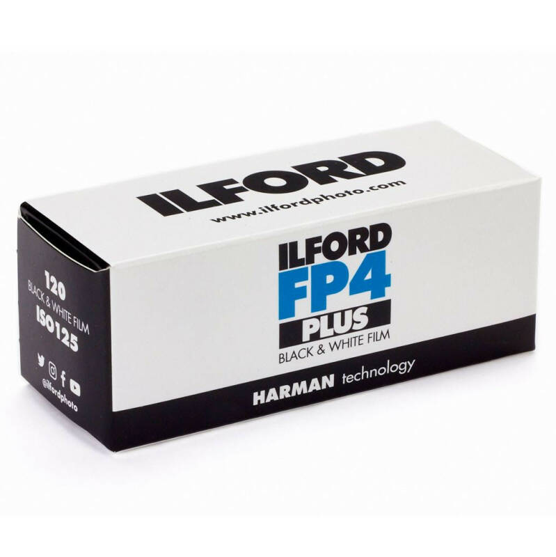 Ilford FP4 PLUS 125 iso 120 middenformaat
