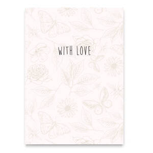 """With love"""" Beige"""