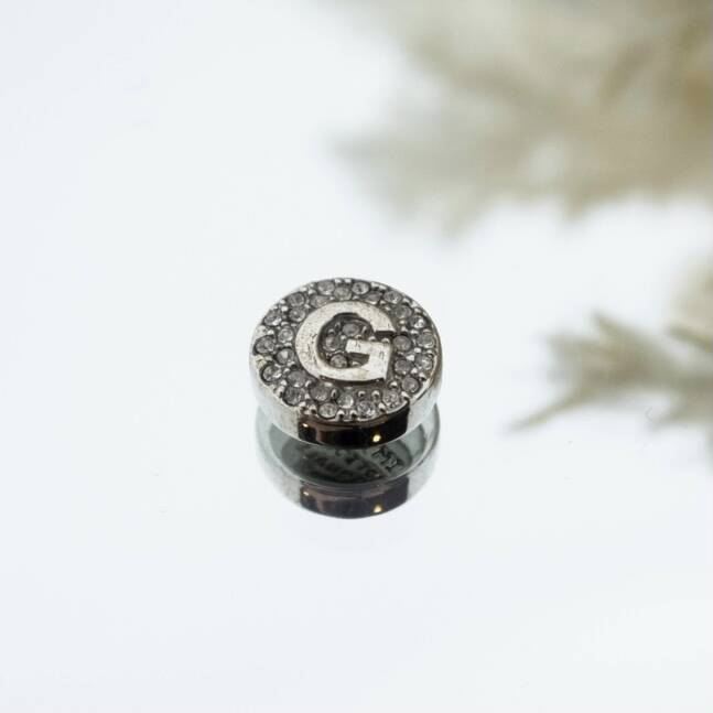 Imotionals Crystal Letter G Zilver