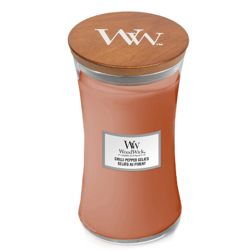 Woodwick Chilli Pepper Gelato Large Candle