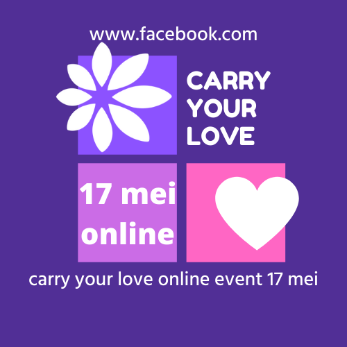 Tegoedbon Carry Your Love online event 17 mei