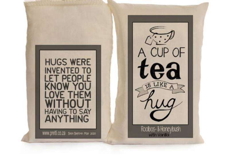 Thee Sakkie A cup of tea is like a hug