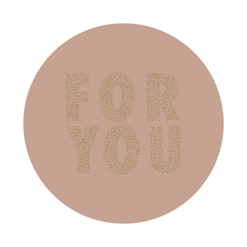 Sticker - For you / Roze