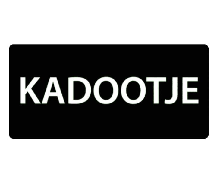 Sticker - Kadootje