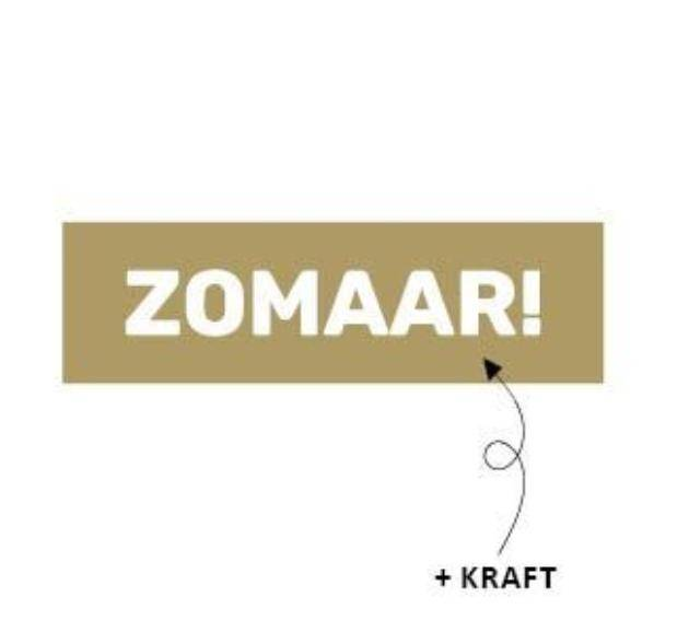 Sticker - Zomaar