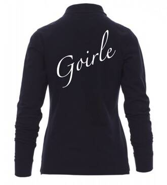 Dames polosweater Goirle navy blue