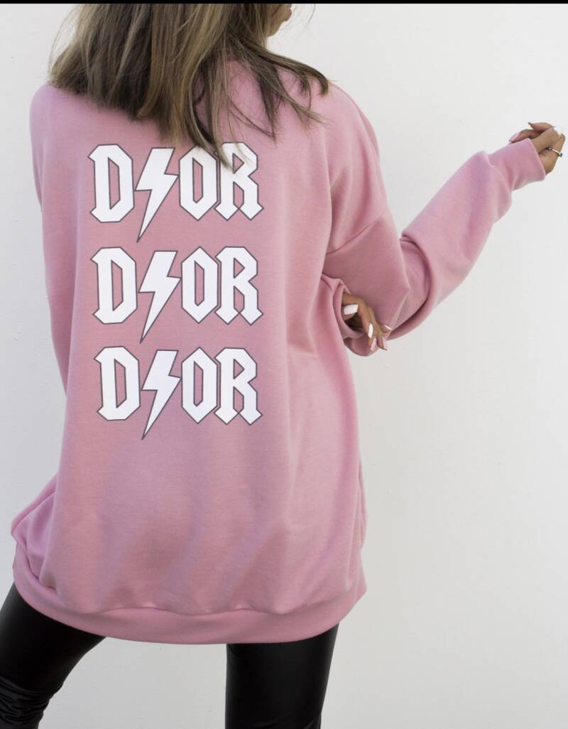 Dior oversized pink