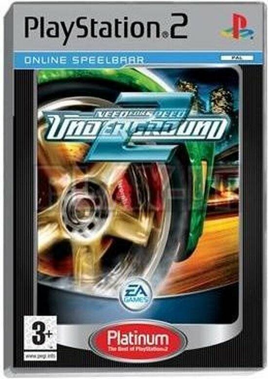 Need for Speed Underground 2 - PS2 - art.400410