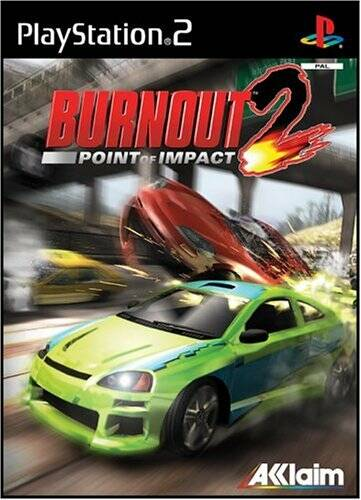Burnout 2 Point of Impact - PS2 - art.400408