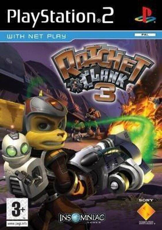 Ratchet and Clank 3 - PS2 - art.400411