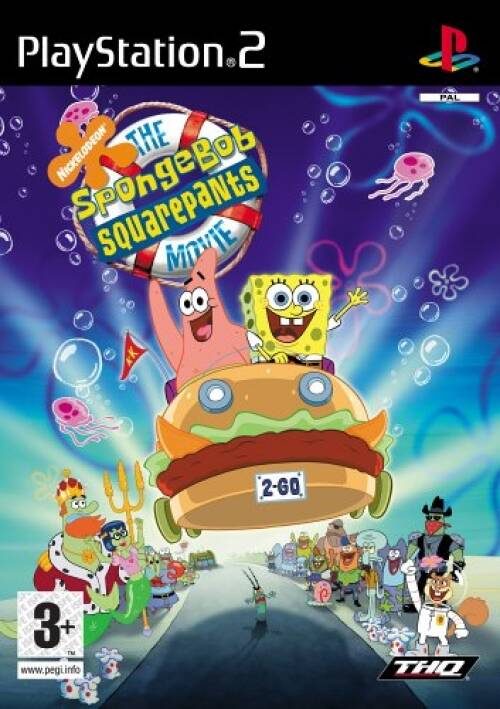 Spongebob de film - PS2 - art.400412