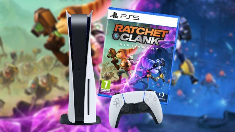 Sony PlayStation 5 (Disk Edition) - Ratchet and Clank bundel