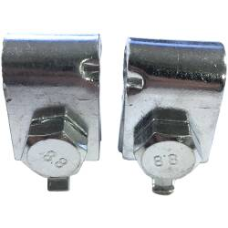 Handbrake Cable End Clips, Set of 2, Willys