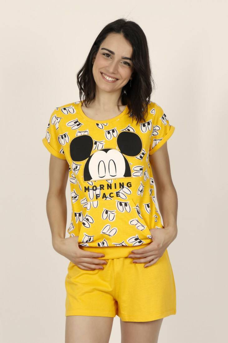 DISNEY shorty Mickey Eyes