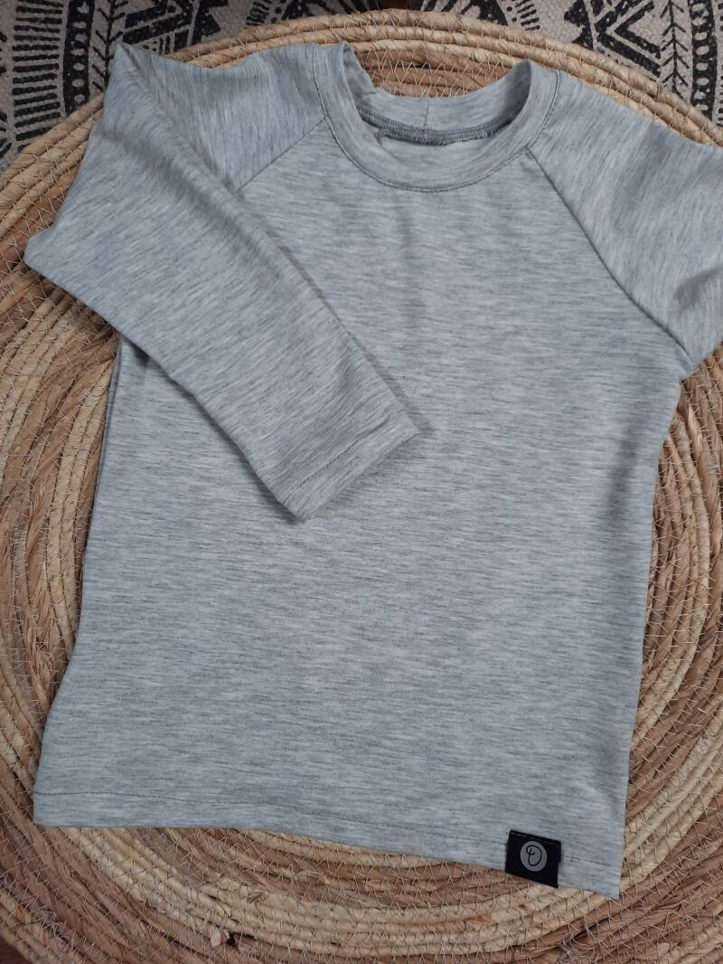 Shirt MASS Grey maat 68