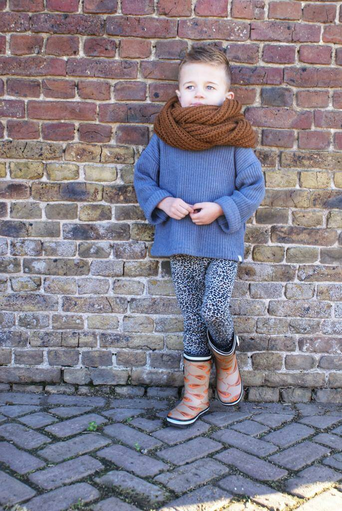 Easy Going Sweater Knit Blue - 92 & 104