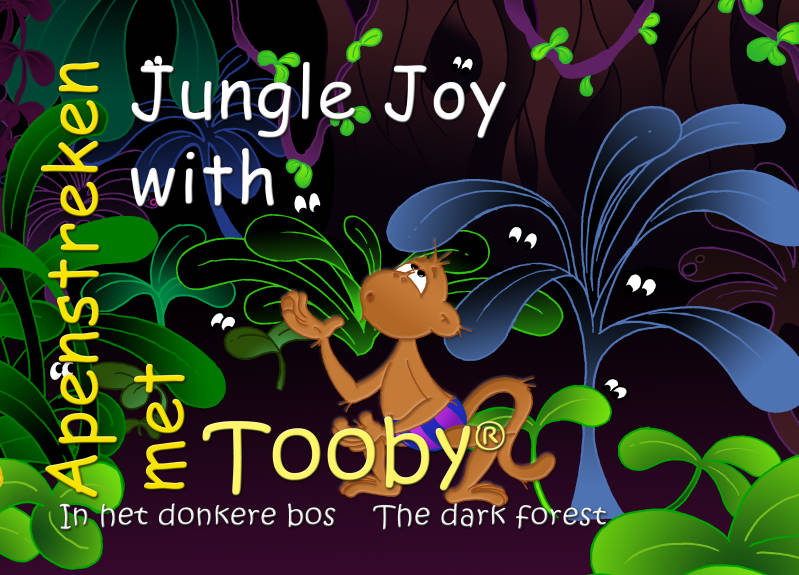 Apenstreken met Tooby - In het donkere bos / Jungle Joy with Tooby - The dark forest