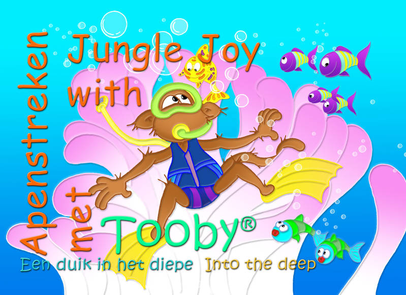 Apenstreken met Tooby - Een duik in het diepe    /   Jungle Joy with Tooby - Into the deep