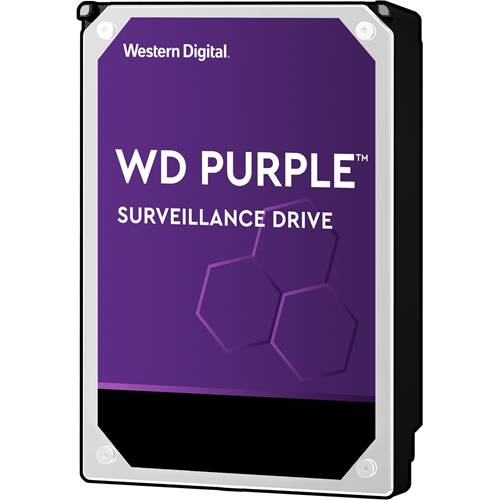 4 Terabyte Western Digital Purple Edition Hardeschijf.
