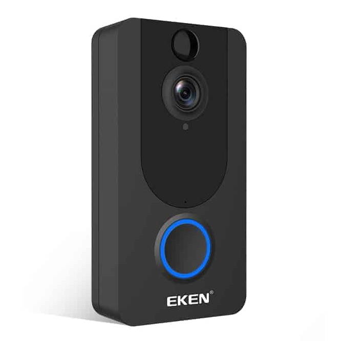 EKEN V7 deurbel camera. WiFi en 1080P Full HD video camera.