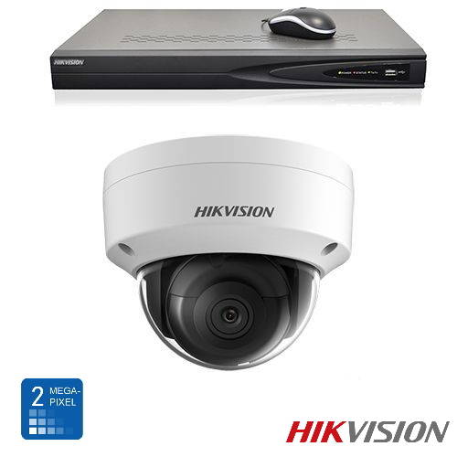 Hikvision HD 2 Mp IP camerabewaking set 01