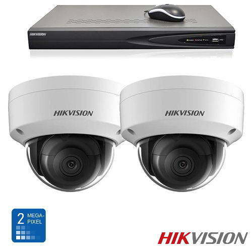 Hikvision HD 2 Mp IP camerabewaking set 02