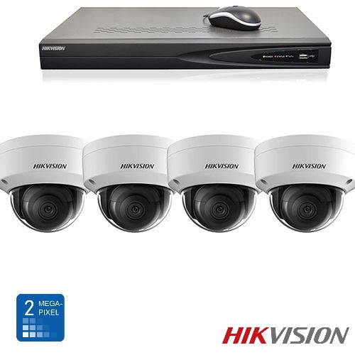 Hikvision HD 2 Mp IP camerabewaking set 04