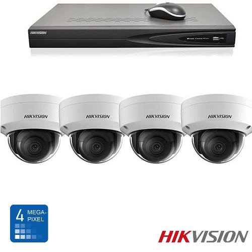Hikvision HD 4 Mp IP camerabewaking set 04