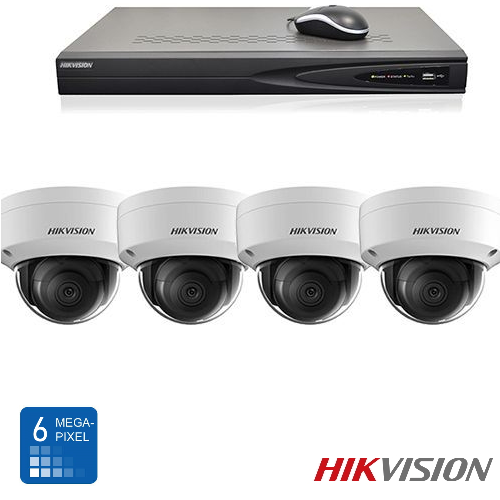 Hikvision HD 6 Mp IP camerabewaking set 04