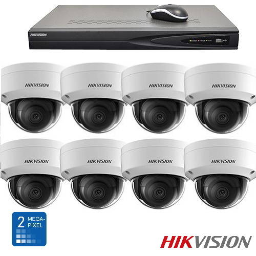 Hikvision HD 2 Mp IP camerabewaking set 08