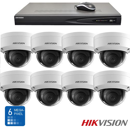 Hikvision HD 6 Mp IP camerabewaking set 08