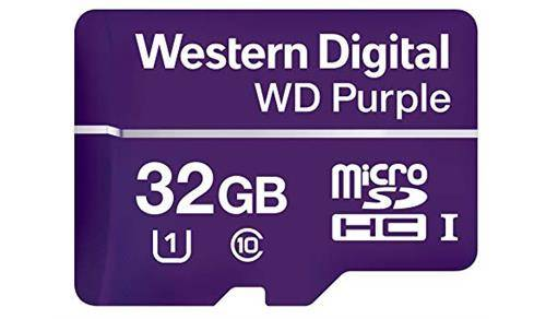 Western Digital Purple 32 Gigabyte SD kaart
