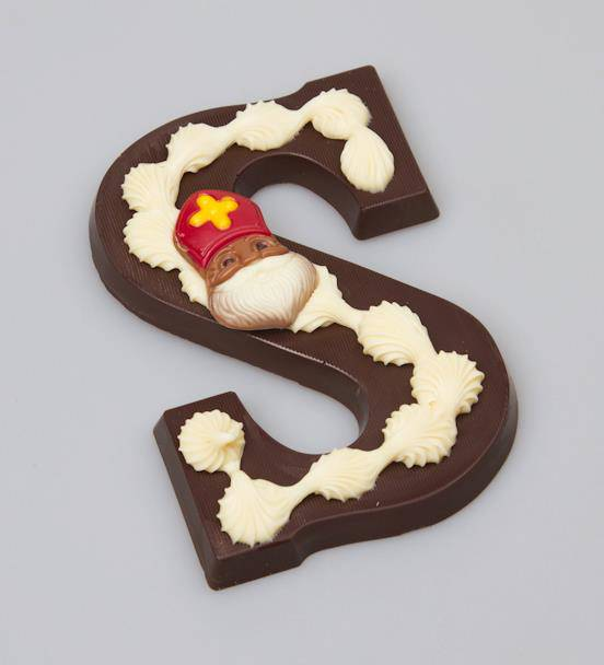 Pure chocolade letters 200 gram