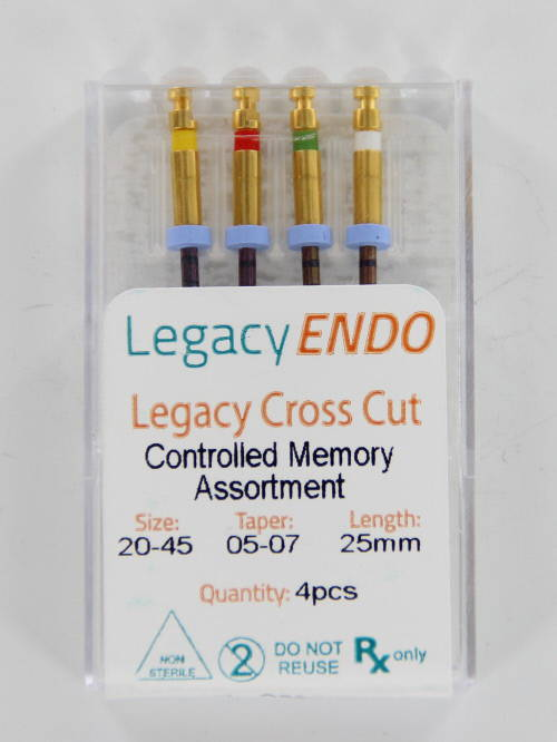 103876 LEGACY ENDO CROSS CUT 25 mm ASSORTED (4st.)