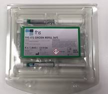 172355 FHS ETS GROEN REFILL (4x1,2ml/5 tips)
