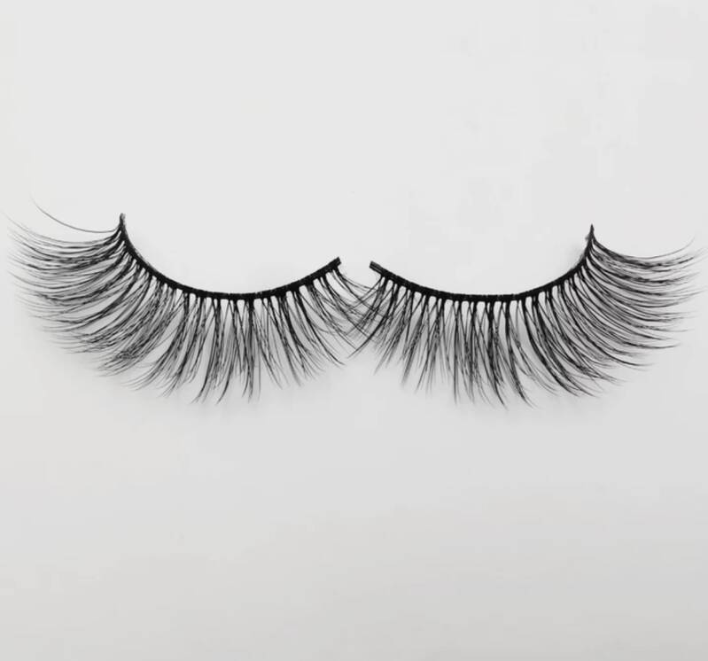 Lashes shine bright