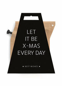 LET IT BE X-MAS EVERYDAY * coffeebrewer gift card