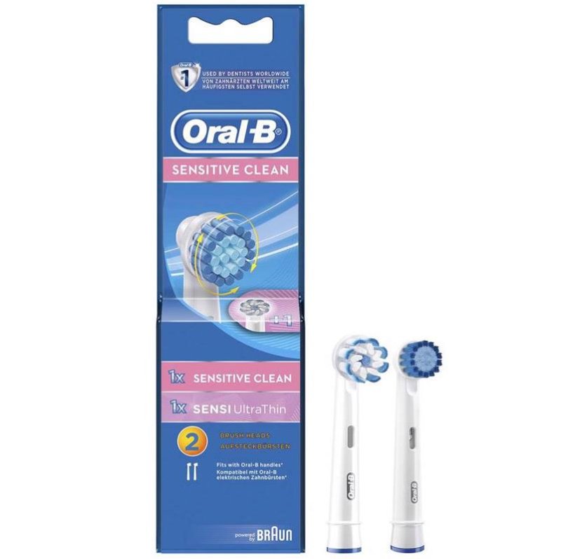Oral B Opzetborstel SENSITIVE EB17-2 2 stu