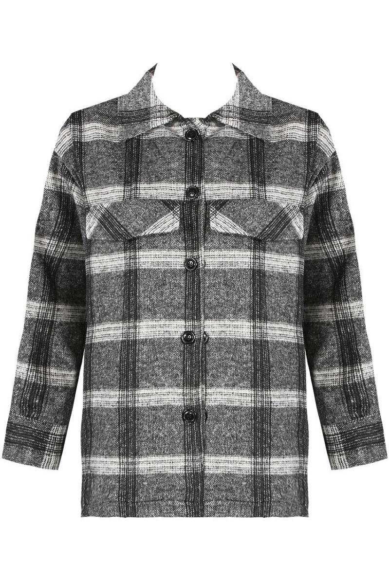 CLAIRE CHECKERED JACKET
