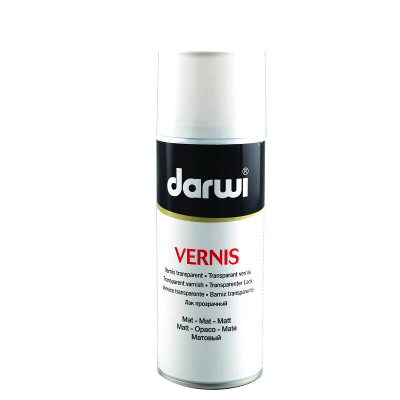 Darwi Vernis Hoogglans 400 ml Spray