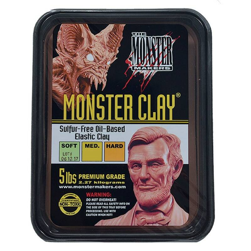 Monster Clay Soft Grade [2,27 Kg]